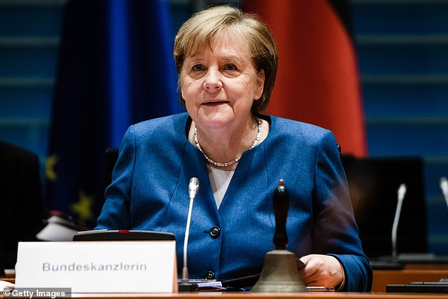Angela Merkel has warned Germany will see ten times as many Covid cases by Easter if they 'don't manage to stop this British virus'