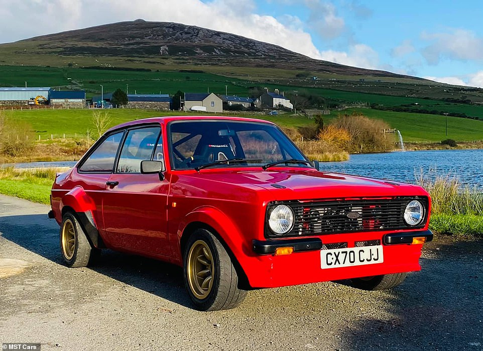 The brand new Ford Escort Mk2: Welsh firm MST Cars will build to order a selection of hand-made versions of the 1970s and 1980s iconic rally car