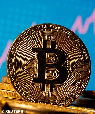 After soaring to another record high, the price of cryptocurrency bitcoin plummeted 21% in just two days