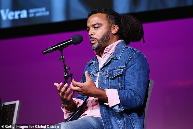 Allegations: In a Medium essay, titled The Wolf and the Whisper Network, the author who described her alleged rape, said that Foss had name checked John Legend when they first met (Foss pictured in 2018)