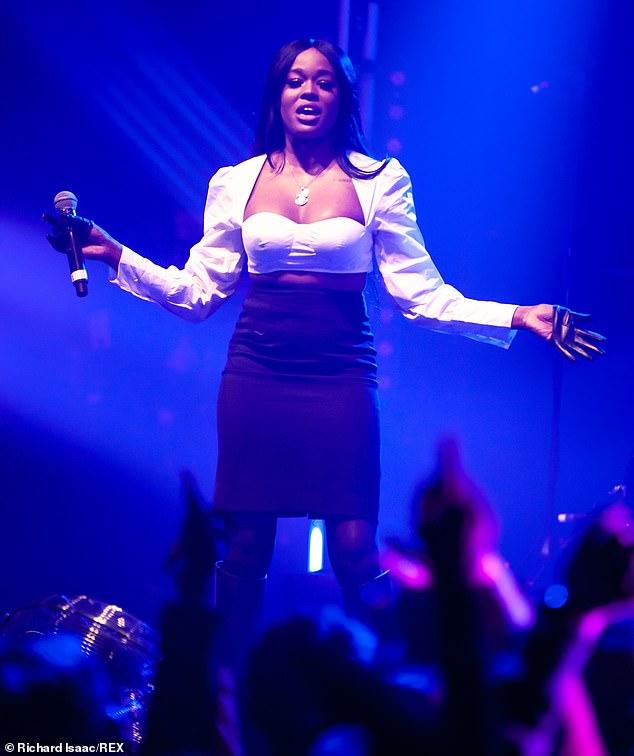 In the spotlight: banks seen in concert in London in January 2019