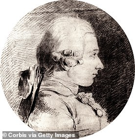 French philosopher and erotic writer Marquis de Sade