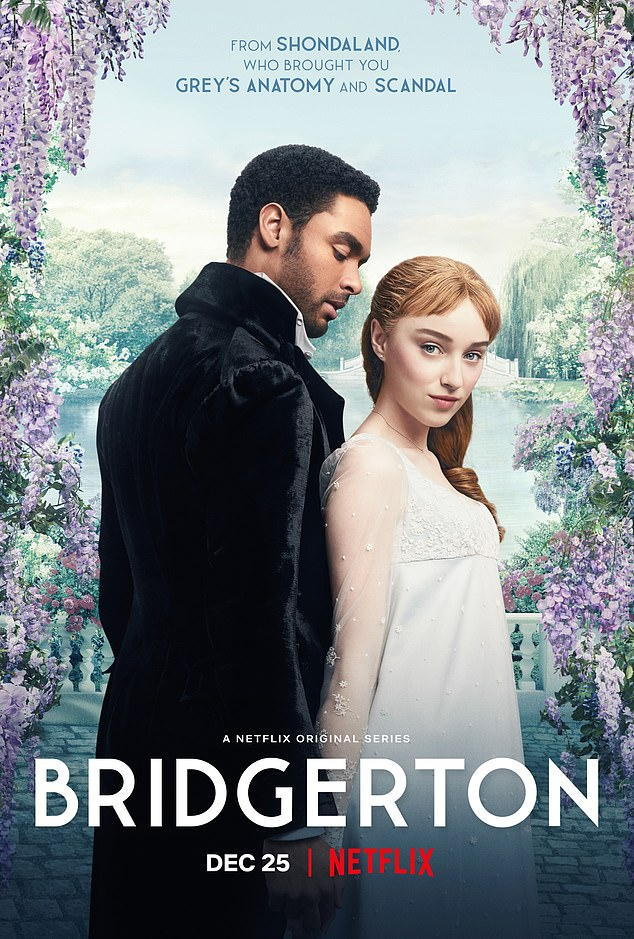 Out now: Bridgerton season one is available to stream on Netflix
