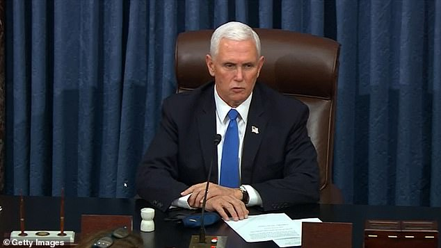 Pence, who had remained a quiet and loyal No. 2 throughout Trump's term, was finally at the breaking point and rejected Trump's plea, refusing to overturn the election