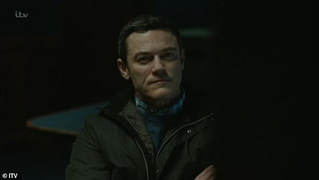 The three-part ITV drama sees Hollywood actor Luke Evans (pictured) play Detective Superintendent Steve Wilkins, who in 2006 led a review of two brutal unsolved double murder cases from two decades earlier