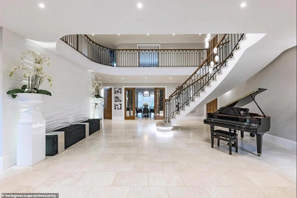 Little Mix's Leigh-Anne Pinnock and fiancé Andre Gray put £4.95million Surrey mansion on the market
