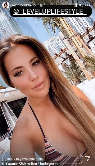 Live Like Yaz: Elsewhere on her Instagram Stories, Yaz encouraged her followers to join her conference call where she would later be discussing a business opportunity