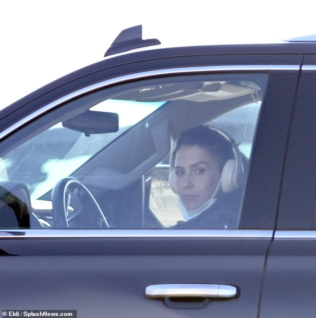Solo: Reports that the SNL star is living away from his Boston-born wife (seen driving around the Hamptons) come amid ongoing scandal over her faked Spanish heritage