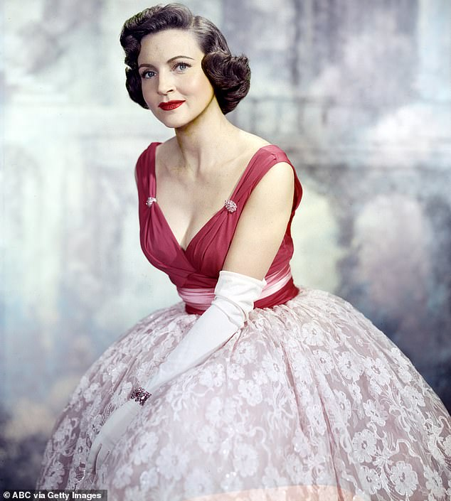 Titan:Betty has spent eight decades working in television and has racked up the longest career in the history of the medium; pictured in 1957