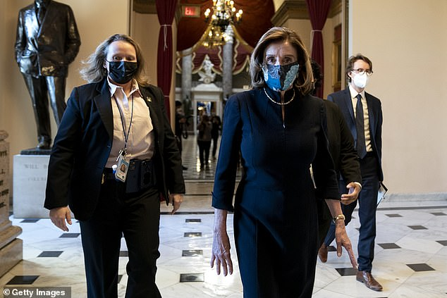 Speaker Nancy Pelosi asked Capitol Police officers to prevent Republican lawmakers from walking around the newly-installed metal detectors