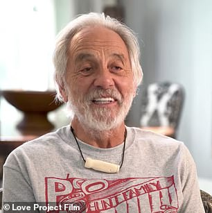 Dynamic duo: Tommy Chong (left) and Henry Winkler are both featured in the film