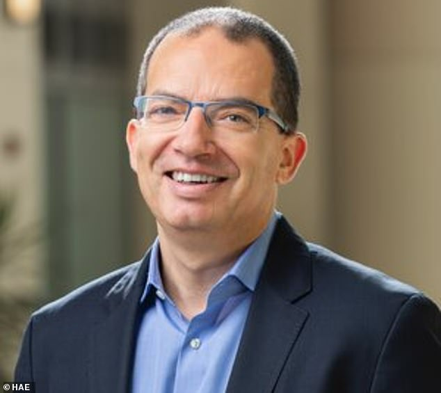 Moderna CEO Stéphane Bancel (pictured) spoke at a panel discussion at the JPMorgan Healthcare Conference on Wednesday, statingthe coronavirus is not going to disappear and the general public is going to have to live with it 'forever'