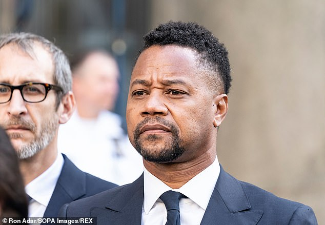 The star of movies including Boyz n the Hood, Jerry Maguire and A Few Good Men was snapped in NYC in 2019