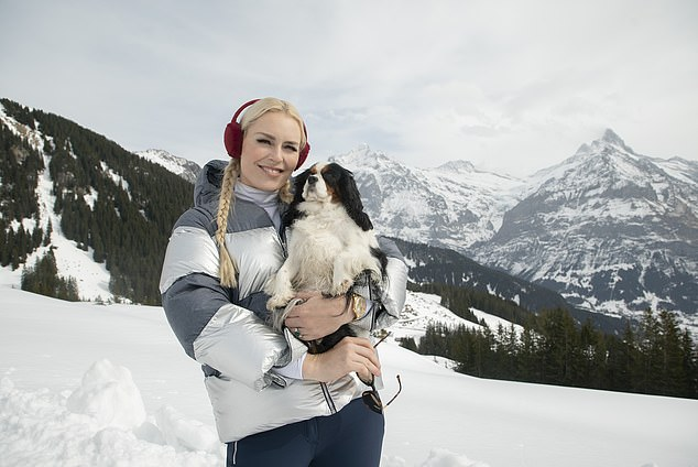 The show is hosted by Olympian skier Lindsey Vonn and her dog Lucy