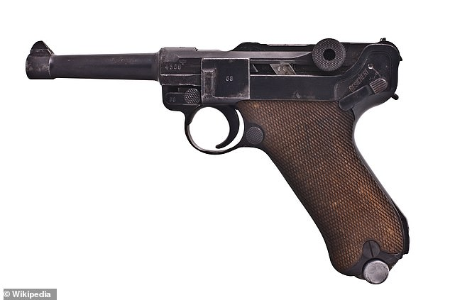 Nazi soldiers carried German-made Luger pistols during the second world war