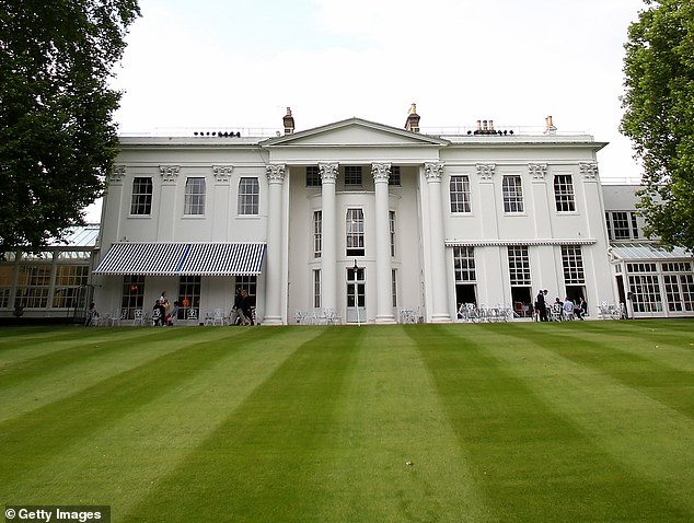 Bad blood boiled over just before Christmas at the Hurlingham Club ¿ despite the fact it's where the Duchess of Cambridge takes Prince George for tennis lessons