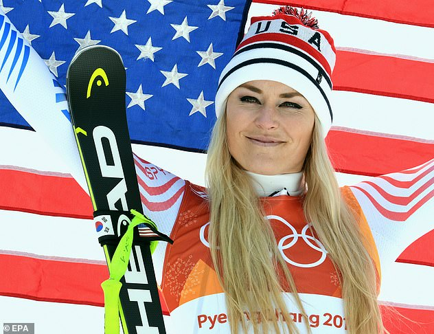 Vonn, 36, won the gold medal in downhill at the 2010 Winter Olympics