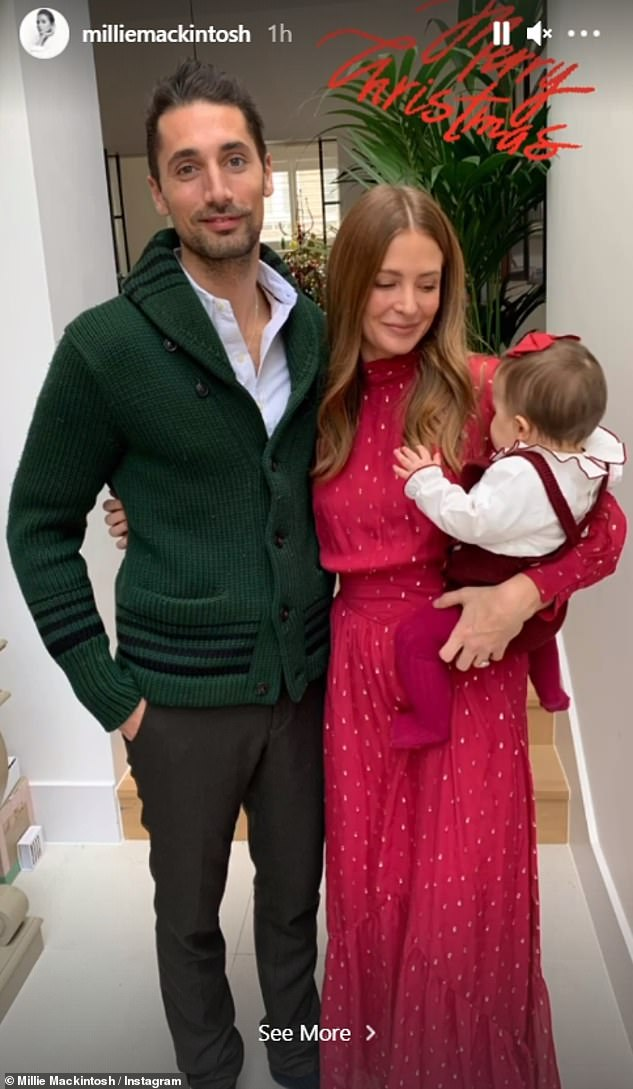 Concerns: Millie and her husband Hugo both tested positive for Covid and were concerned about who would take care of their daughter if they were hospitalized