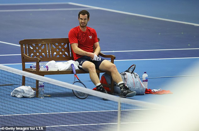 Murray was due to leave this week for the Australian Open but those plans are now in jeopardy