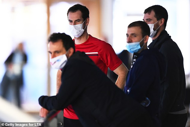 Andy Murray has tested positive for Covid-19 after showing minor symptoms