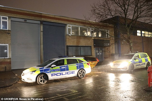 In London last night officers were called out to reports of loud music coming from the roof by disgusted residents