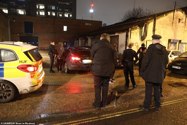 'Astounded' officers in the capital were called to break up a party of 20 people having a rave on a roof-top in Southwark, South East London