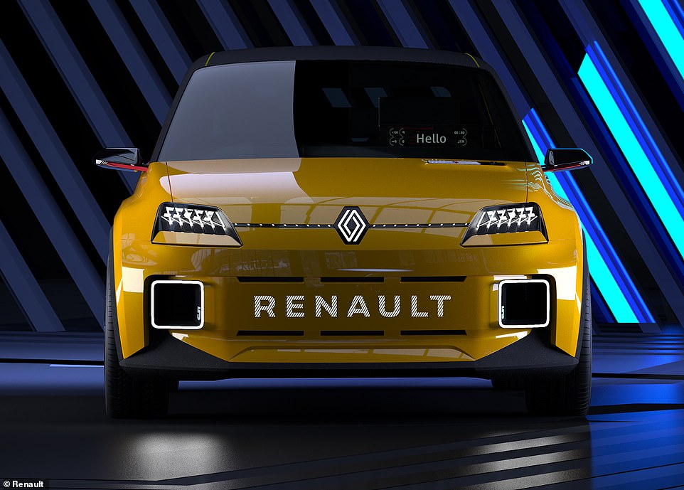 The Renault 5 Protoype was shown for the first time on Thursday as part of a strategy announcement by the French maker
