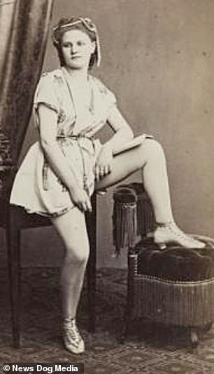 A sex worker from 1880, around the time Marion Canning was working and arrested in New York. She later returned to Ireland