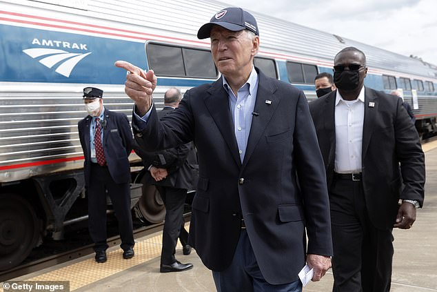 Joe Biden is known for his love of trains - he commuted nearly daily on Amtrak as a senator