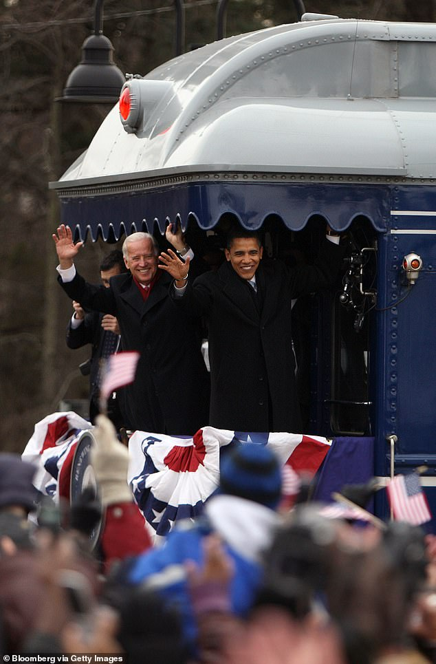 In January 2009, then-President-elect Barack Obama and Vice President-elect Joseph Biden took a train into Washington D.C. for their inauguration ceremony