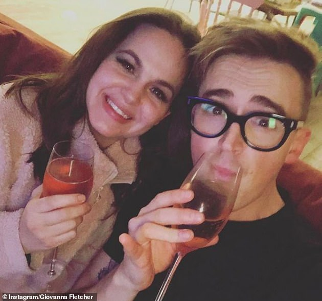 Team effort: During an interview with The Sun, the McFly singer showed his appreciation for his wife by suggesting they might team up for a duet in the future