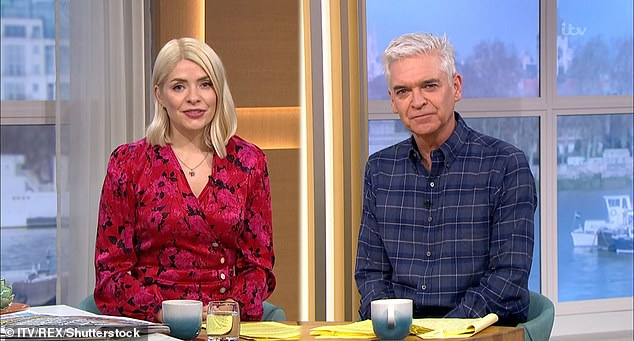 Grand gesture:Phillip Schofield kindly offered to pay a viewer's £700 electricity bill during Thursday's This Morning