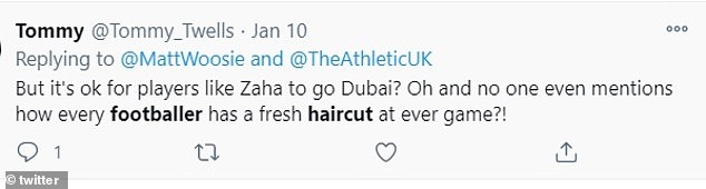 Football fans have been flooding social media with questions about the surprisingly professional looking haircuts