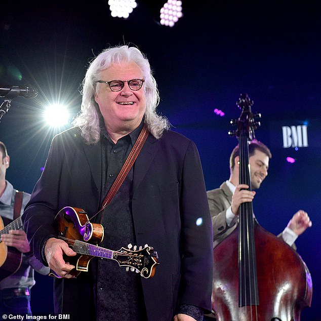 Ricky Skaggs (above), who also received the award Wednesday, is also yet to post on his social channels about the honor