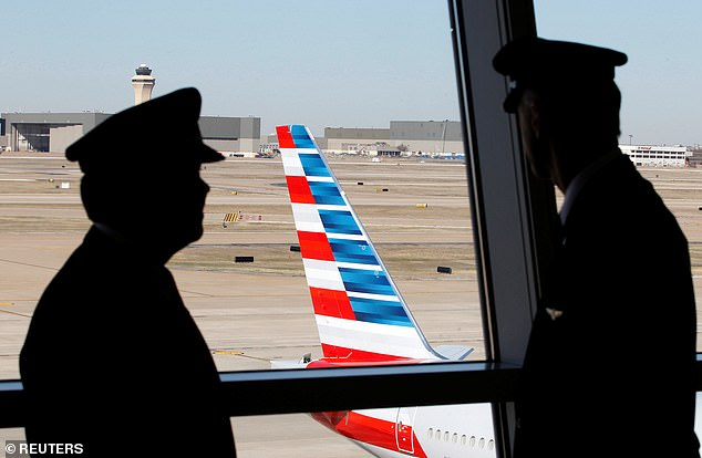 American Airlines says its pilots should take the COVID-19 vaccine on their own time because they company doesn't require them to have it