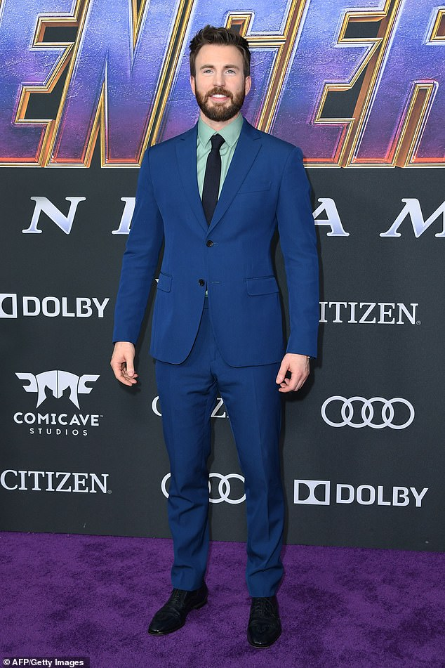 No Cap:Chris Evans (seen in April 2019) is nearing a deal to reprise his role as Steve Rogers in the Marvel Cinematic Universe according to a report from Deadline on Thursday