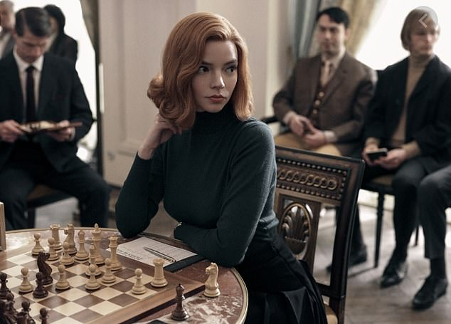 D: Anya Taylor-Joy in The Queen¿s Gambit, which followed orphaned chess prodigy Beth Harmon
