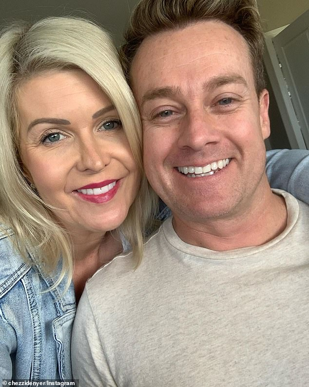 Claims: In the February 2014 story, Woman's Day reported that Grant and his wife of 10 years, Chezzi Denyer (left), had sought treatment for an 'ice' habit at The Cabin rehab facility in Thailand