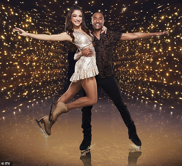 Opportunity:Colin Jackson has revealed that he turned down the opportunity to have a same-sex partner on Dancing On Ice