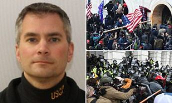 FBI is investigating 37 people over death of Capitol cop Brian Sicknick | Daily Mail Online