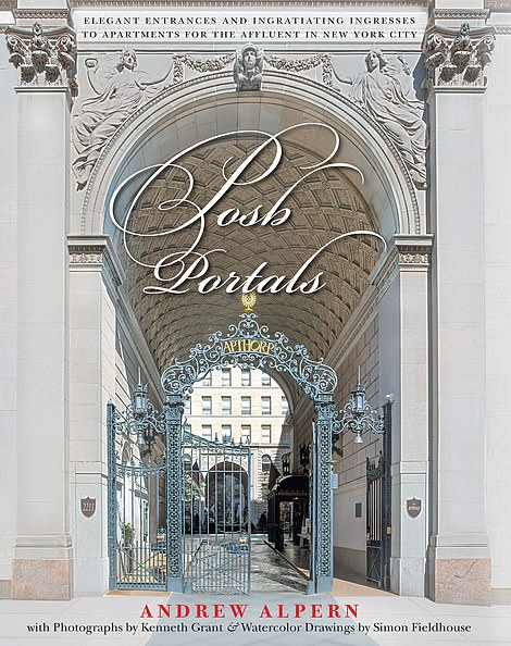 Can you identify these posh NYC apartment buildings just by their ornate entrances?