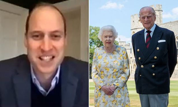 Prince William is proud of Queen and Prince Philip for having vaccine
