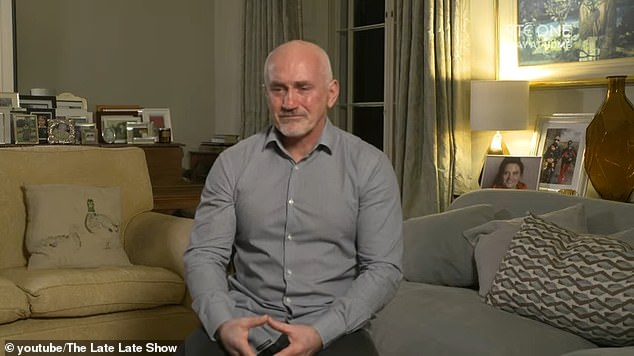 Moving: Barry McGuigan, 59, discussed the tragedy of losing his daughter Danika for the first time on Friday