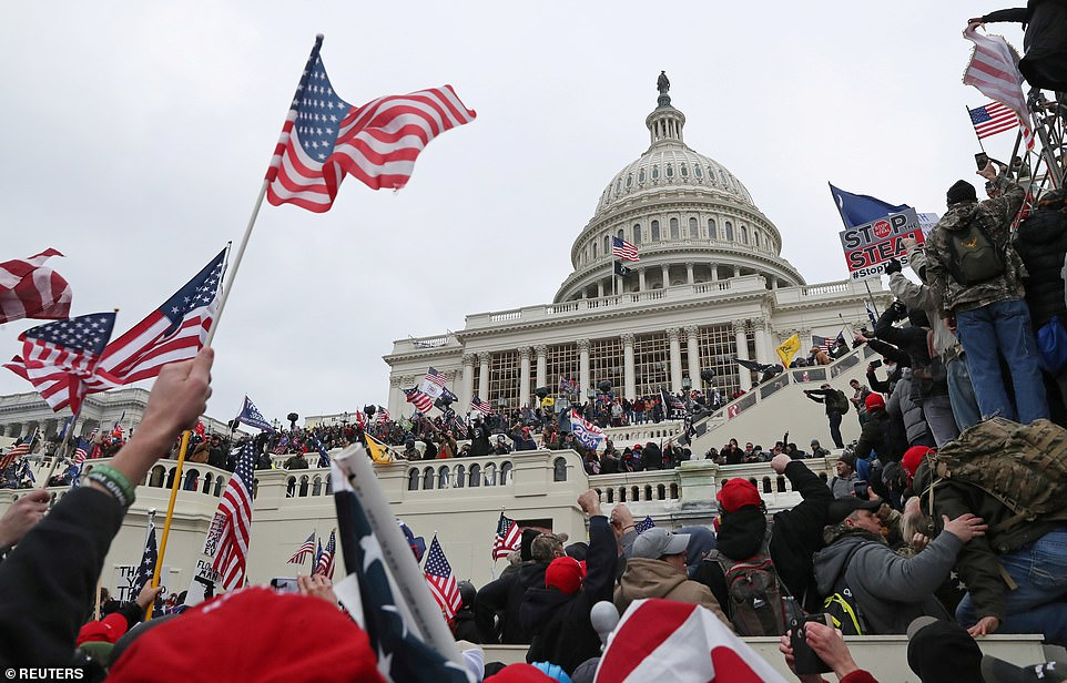 Capitol Police intelligence report warned 'Congress itself' could be target of rioters before siege