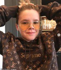 'I'm confused!' Cruz Beckham, 15, baffles fans by flogging HV hoodie