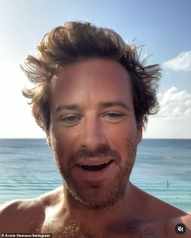 'Cannibal' Armie Hammer posted about love of 'sexy' meat