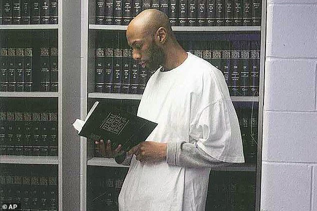 Higgs is seen in 2015 at the Federal Prison in Terre Haute, Indiana. Higgs is the last federal inmate facing execution before President Donald Trump leaves office