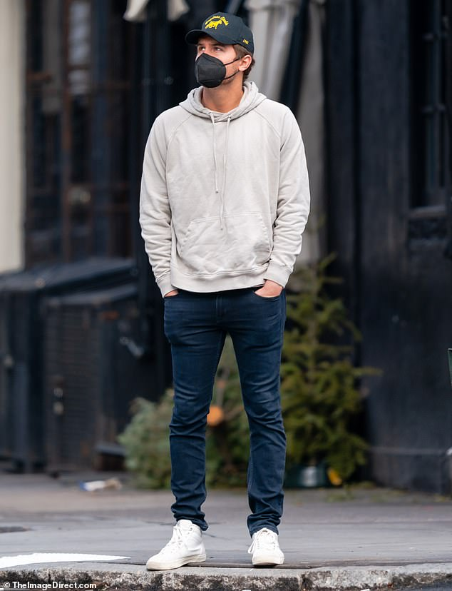 The Bachelor's Peter Weber is pictured in NYC for the first time after moving across the country