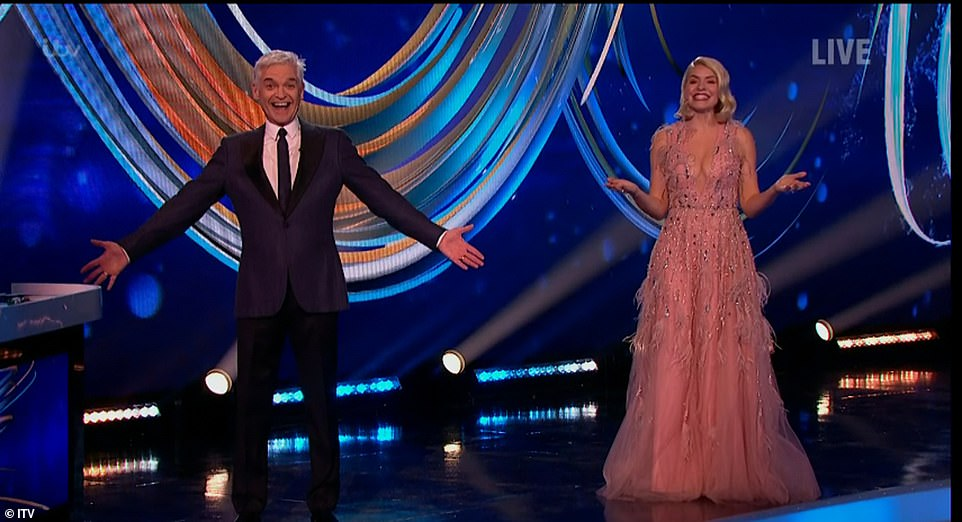 It's back! Dancing On Ice kicked off with hosts Holly Willoughby and Phillip Schofield celebrating a reason to get dressed up on Sunday night