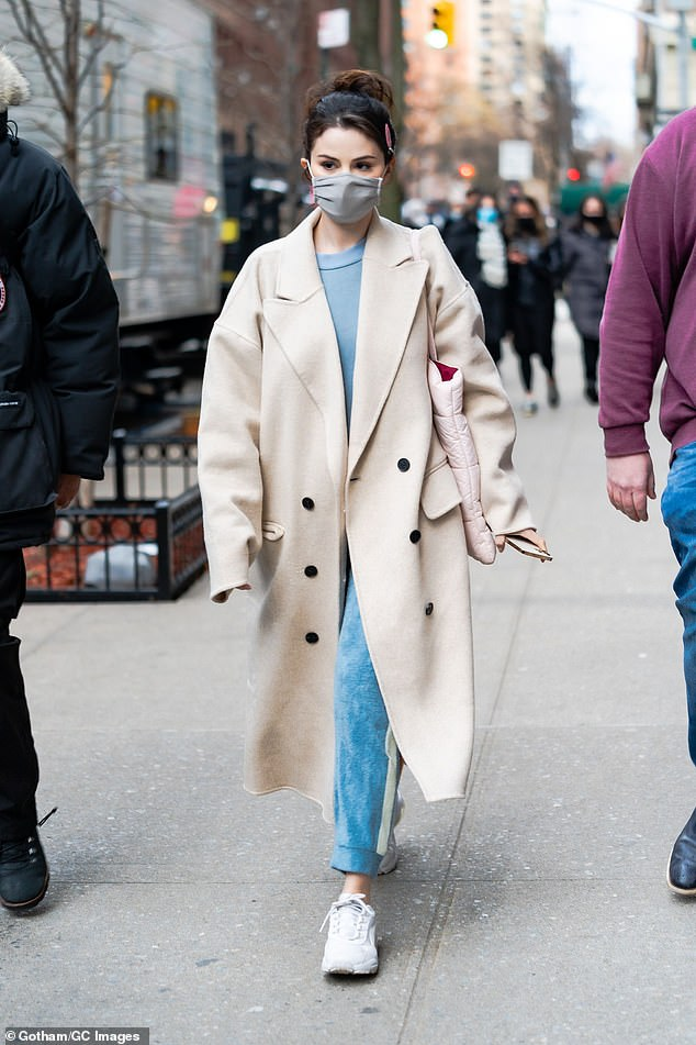 Action! Dolittle actress Selena Gomez rocked a perky ponytail on the set of Hulu's Only Murders in the Buildings in Manhattan's Upper West Side neighborhood on Sunday